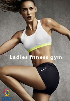 Ladies fitness gym mix