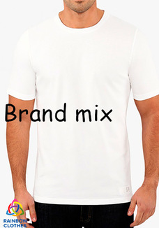 Brand mix white t-shirt