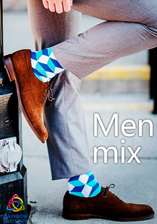 Men mix socks
