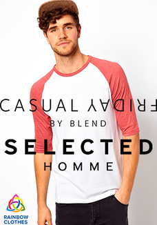 Selected + Casual Friday raglan