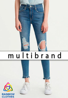 Multibrand women jeans