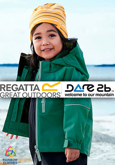 Dare2b + Regatta kids jackets