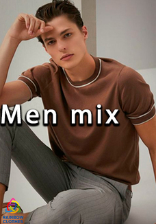 Men mix t-shirt