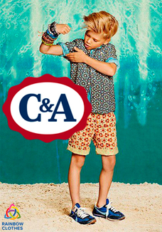 C&A kids t-shirts+shorts